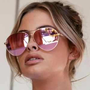 QUAY AUSTRALIA Just Sayin Mirrored Sunnies